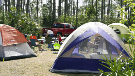 Campgrounds Near Jacksonville