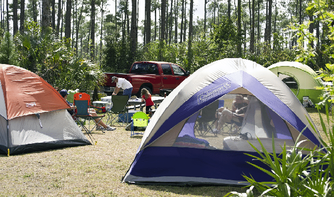 Campgrounds Near Jacksonville fl