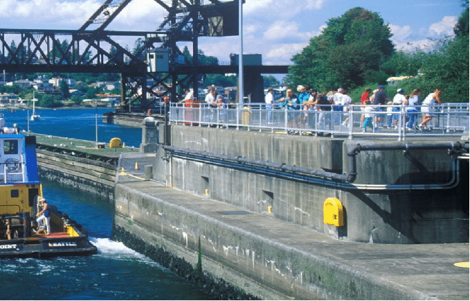 Hiram M. Chittenden Locks seattle