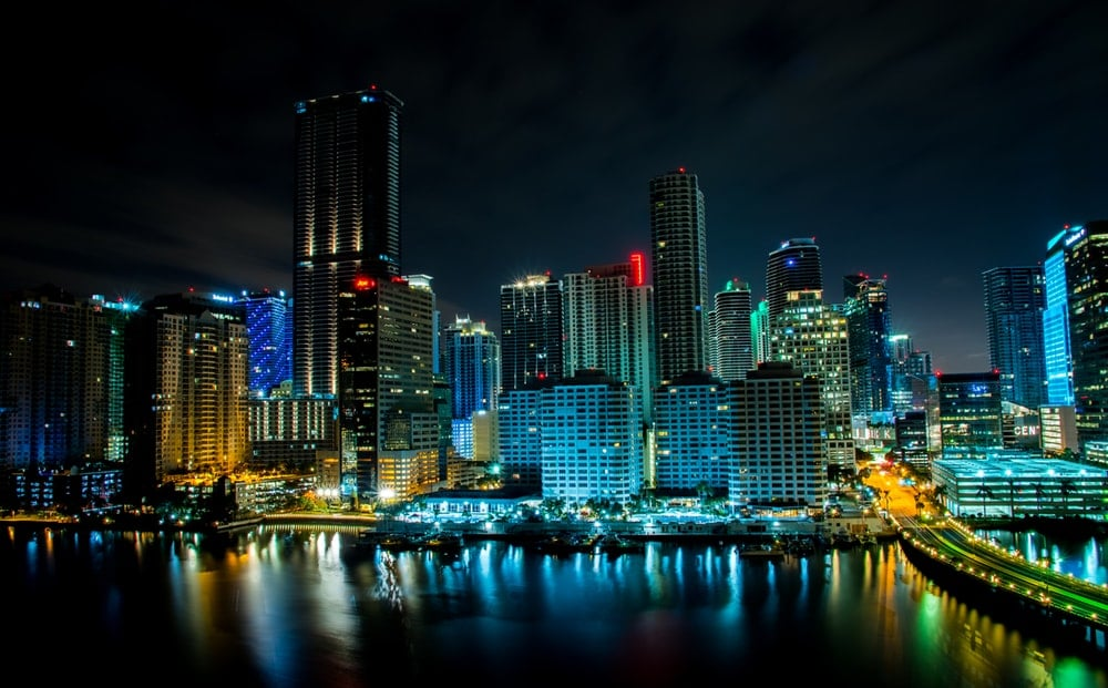 Nightlife in The Magic City Miami