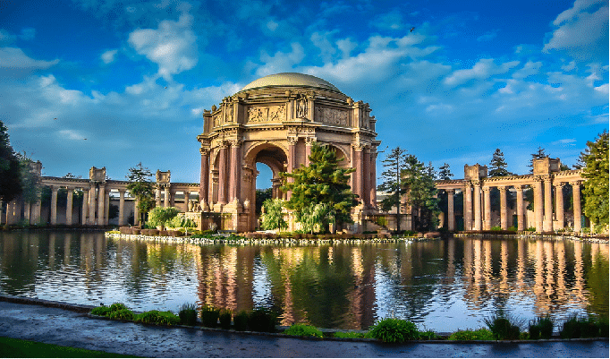 Palace of Fine Arts Theater san francisco