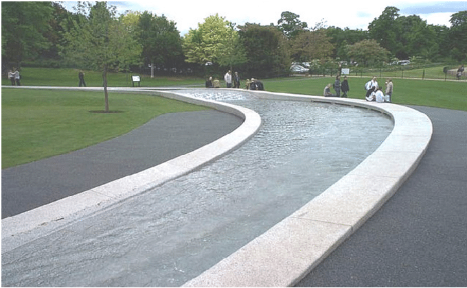 Princess Diana Memorial Fountain london