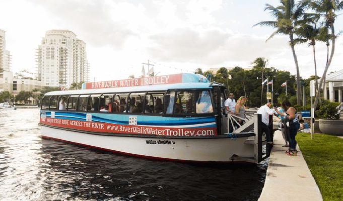 Riverwalk Water Trolley