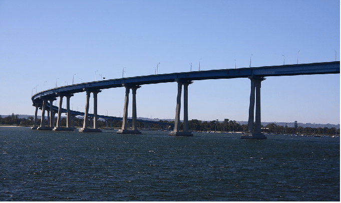 Coronado Bridge san diego