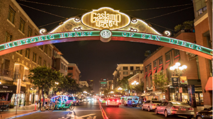 Gaslamp Area Of San Diego