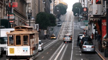 Hotels on Powell Street in San Francisco, California
