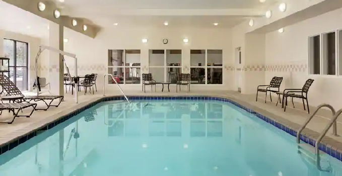 Indoor Pool In Wichita