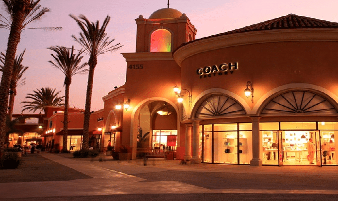 San Diego Factory Outlet Center san diego