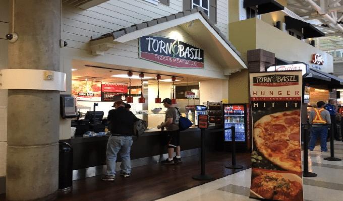 Torn Basil Fort Lauderdale Airport