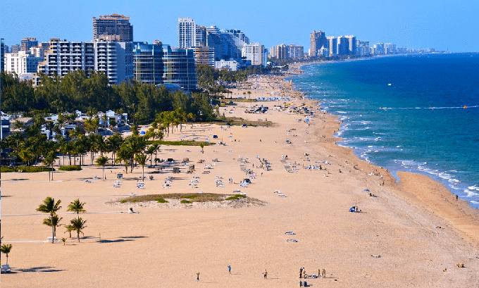 Nude Beaches in Fort Lauderdale